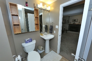Three piece bathroom finished with Kohler fixtures...