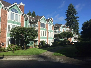 "Main Photo: 201 1675 AUGUSTA Avenue in Burnaby: Simon Fraser Univer. Condo for sale in ""Augusta Springs"" (Burnaby North)  : MLS® # R2207672"