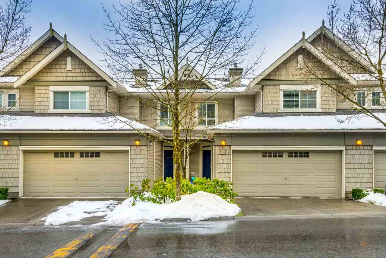 "Main Photo: 46 2978 WHISPER Way in Coquitlam: Westwood Plateau Townhouse for sale in ""Whisper Ridge"" : MLS® # R2244388"