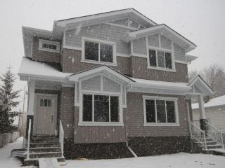 Main Photo: 12236 89 Street in Edmonton: Zone 05 House Half Duplex for sale : MLS®# E4106930