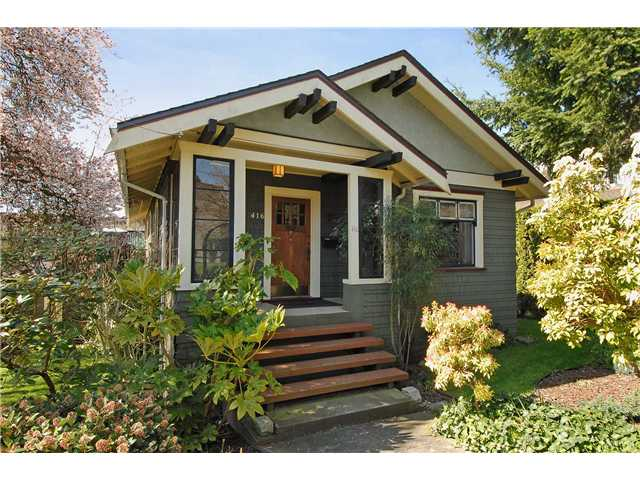 Main Photo: 416 10TH Street in New Westminster: Uptown NW House for sale : MLS® # V999379