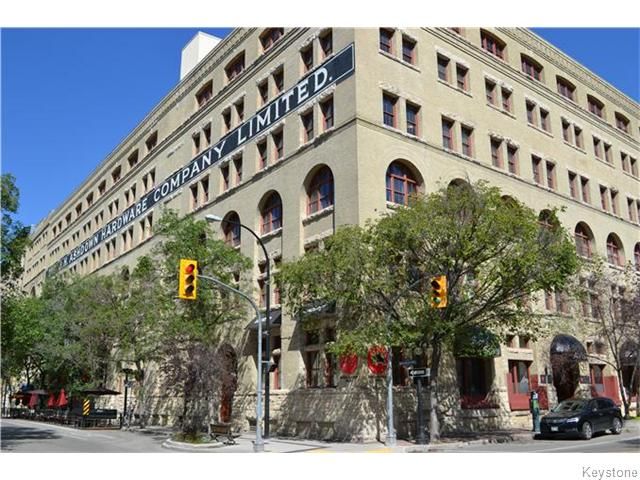 Main Photo: 167 Bannatyne Avenue in WINNIPEG: Central Winnipeg Condominium for sale : MLS®# 1522612