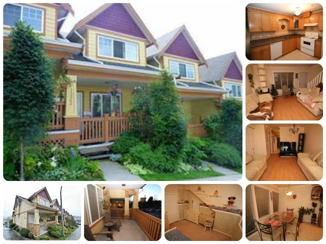 Main Photo: 2 1222 CAMERON Street in New Westminster: Uptown NW Townhouse for sale : MLS® # R2021334