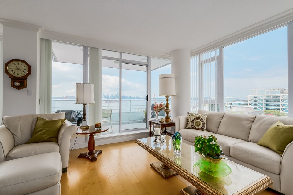 Photo 9: 602 133 E ESPLANADE in North Vancouver: Lower Lonsdale Condo for sale : MLS® # R2054454