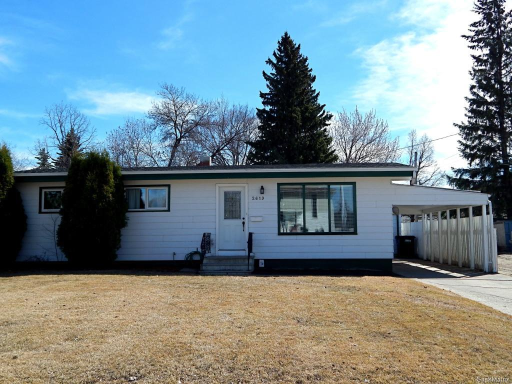 Main Photo: 2619 Haultain Avenue in Saskatoon: Adelaide/Churchill Single Family Dwelling for sale (Saskatoon Area 02)  : MLS(r) # 604202