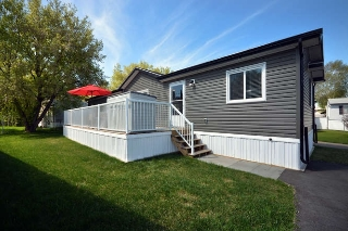Main Photo: 323 Juniper Court in Edmonton: Zone 51 Mobile for sale : MLS(r) # E4065141
