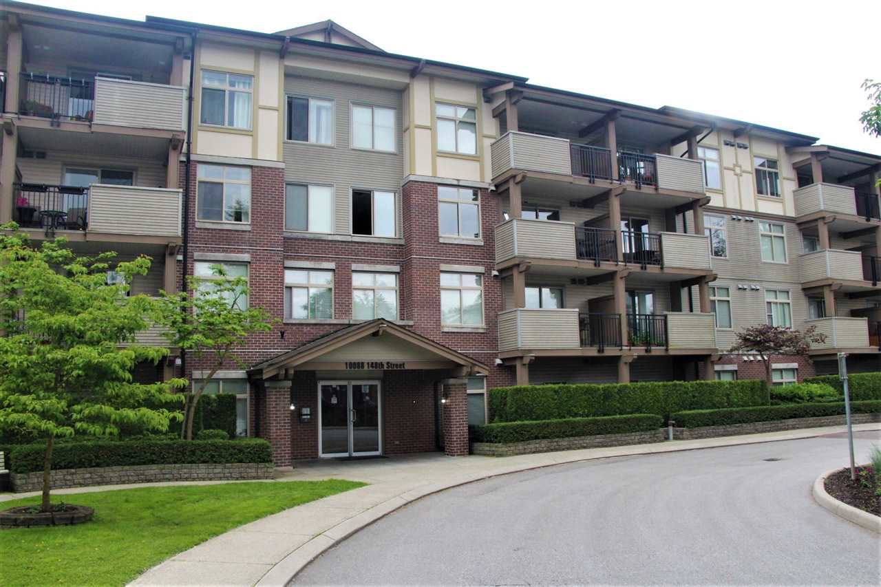 "Main Photo: 107 10088 148 Street in Surrey: Guildford Condo for sale in ""Guildford Park Place-Bloomsbur"" (North Surrey)  : MLS®# R2178604"