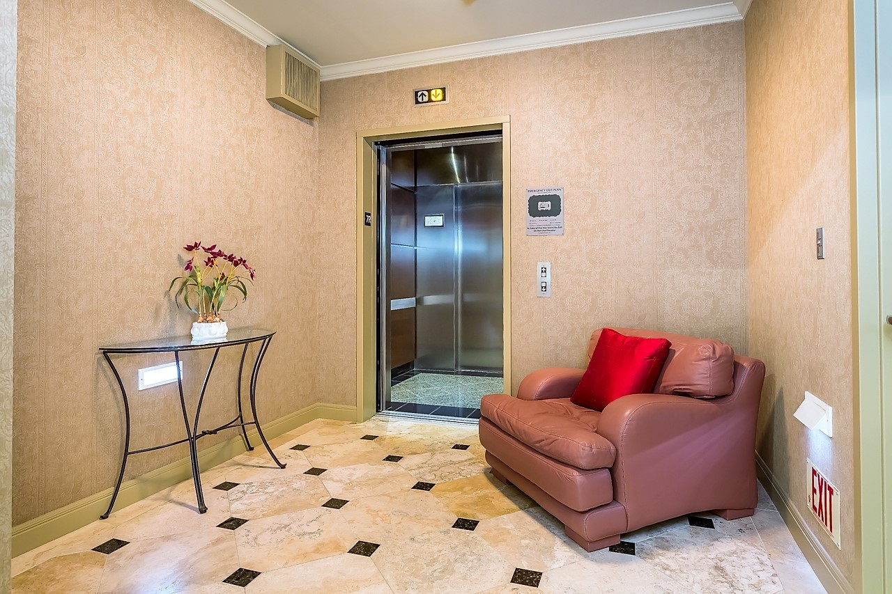 Private Elevator Foyer leading directly to your residence