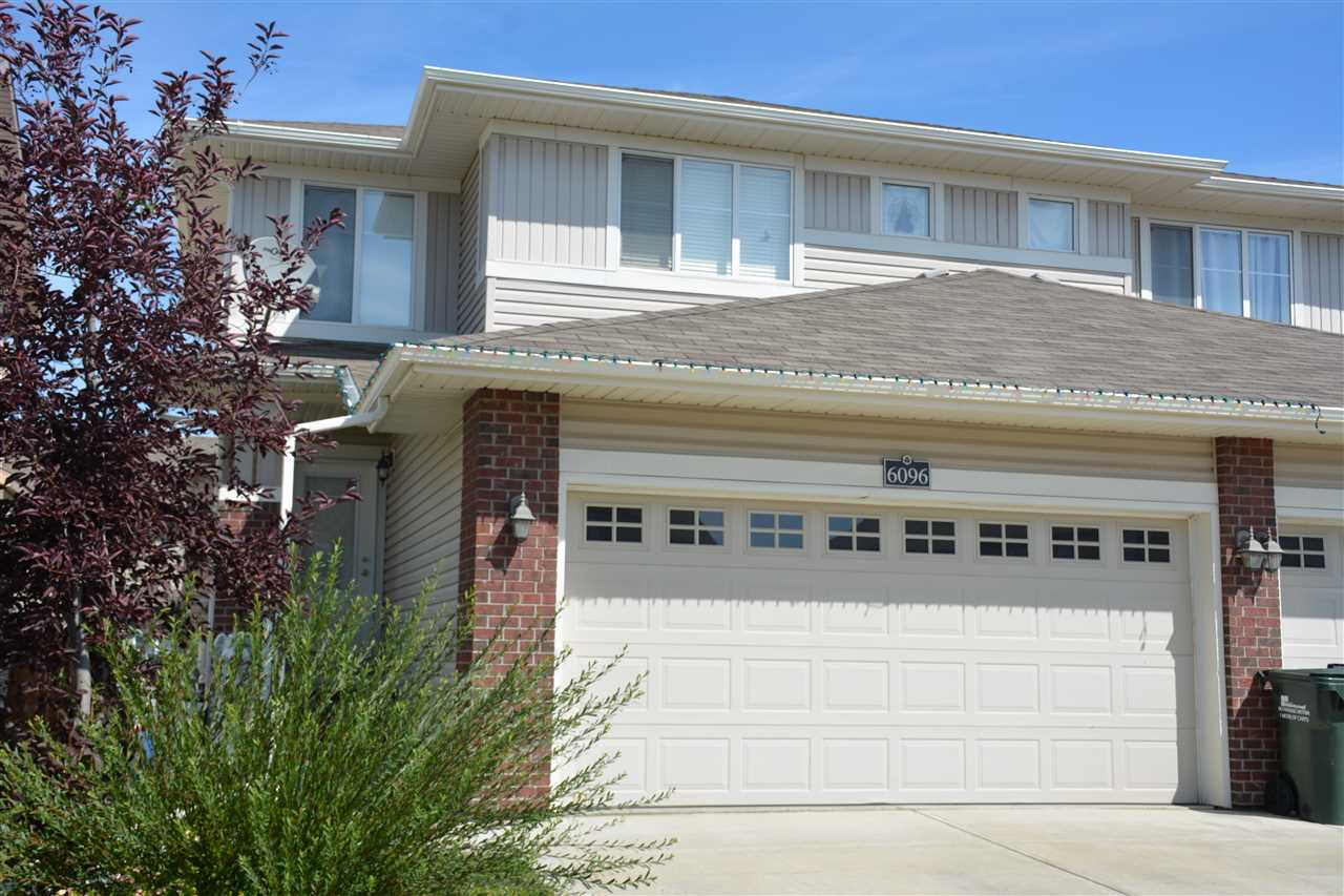 Main Photo: 6096 SUNBROOK Landing: Sherwood Park House Half Duplex for sale : MLS® # E4078618