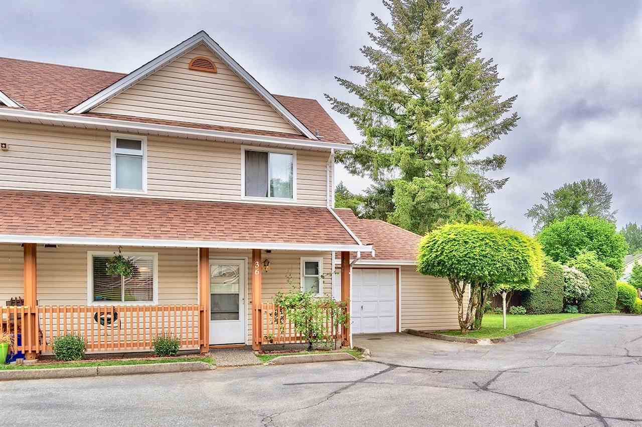 Main Photo: 36 20699 120B Avenue in Maple Ridge: Northwest Maple Ridge Townhouse for sale : MLS®# R2269955