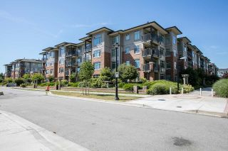 "Main Photo: 201 9299 TOMICKI Avenue in Richmond: West Cambie Condo for sale in ""MERIDIAN GATE"" : MLS®# R2298650"