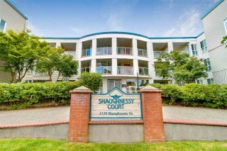 "Main Photo: 210 2339 SHAUGHNESSY Street in Port Coquitlam: Central Pt Coquitlam Condo for sale in ""SHAUGHNESSY COURT"" : MLS®# R2298874"