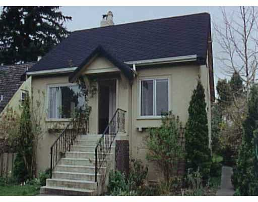 Main Photo: 3947 W KING EDWARD AV in : Dunbar House for sale (Vancouver West)  : MLS(r) # V349287