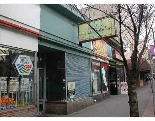 Main Photo: 1087 GRANVILLE Street in Vancouver: Downtown VW Commercial for sale (Vancouver West)  : MLS® # V4044351