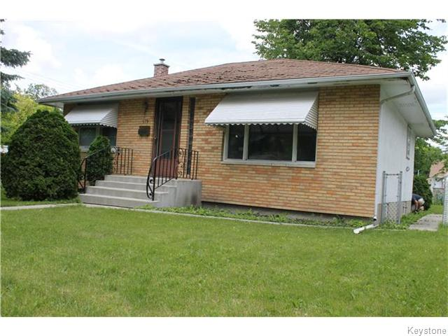 FEATURED LISTING: 179 Tait Avenue Winnipeg