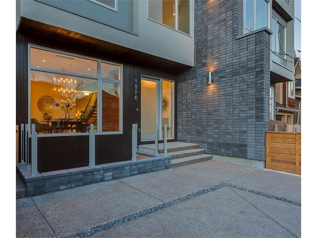 Front Entrance: Built with comfort in mind - Insulated Exterior.  Make sure to look at the LED lights in the concrete patio floor!