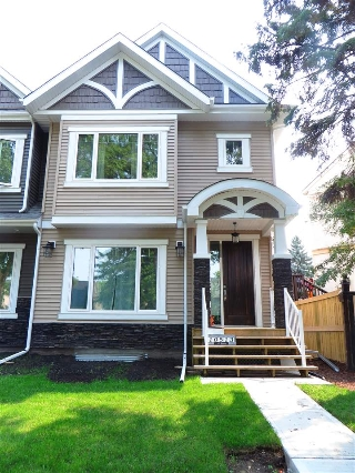 Main Photo: 10513 127 Street in Edmonton: Zone 07 House Half Duplex for sale : MLS® # E4078240