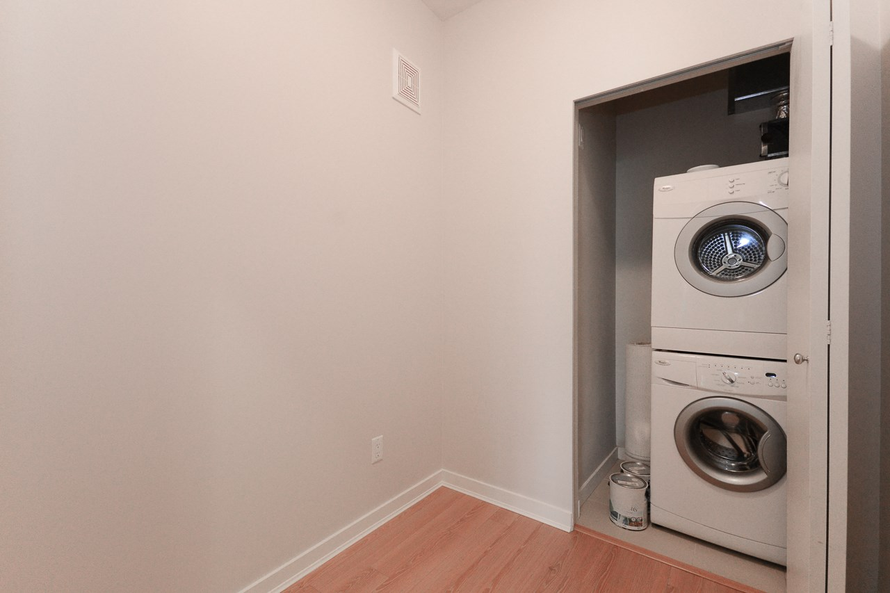 Den and Laundry. Spacious enough for a small office or extra in suite storage.