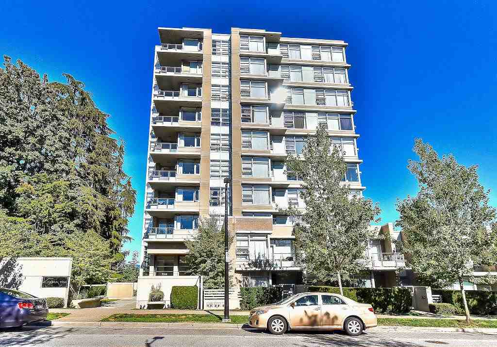 "Main Photo: 907 9266 UNIVERSITY Crescent in Burnaby: Simon Fraser Univer. Condo for sale in ""AURORA"" (Burnaby North)  : MLS®# R2203178"