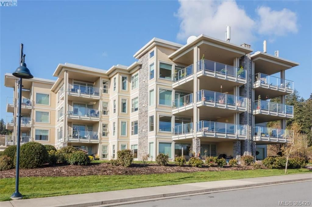 Main Photo: 408 3234 Holgate Lane in VICTORIA: Co Lagoon Condo Apartment for sale (Colwood)  : MLS® # 385420
