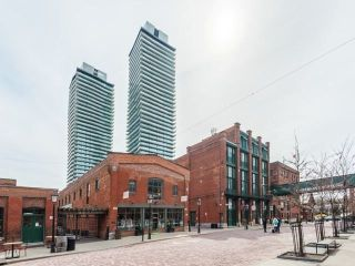 Main Photo: 808 70 Distillery Lane in Toronto: Waterfront Communities C8 Condo for lease (Toronto C08)  : MLS®# C4099025
