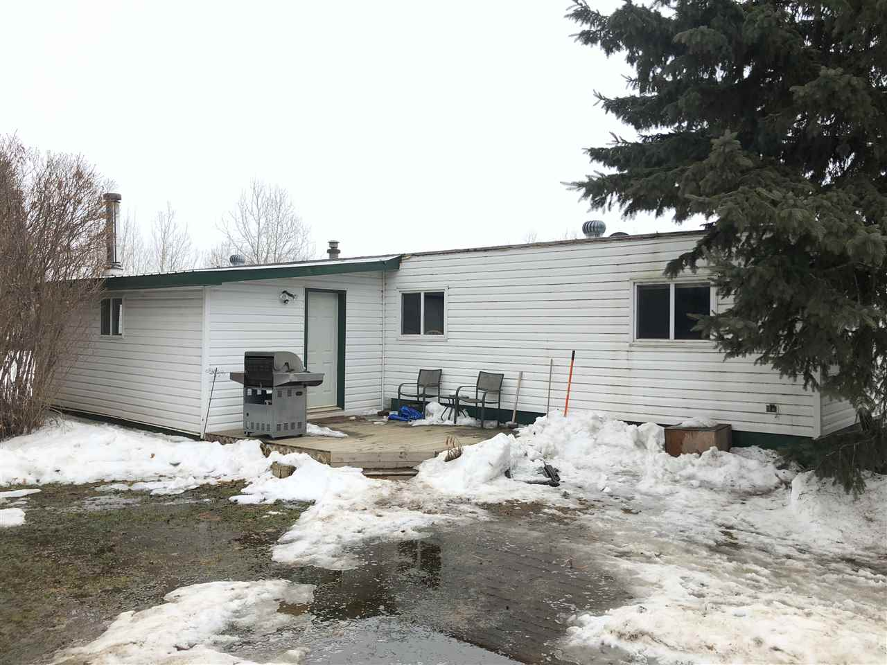 Main Photo: 26301 TWP RD 610: Rural Westlock County Manufactured Home for sale : MLS®# E4106640