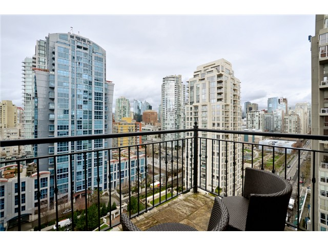 Photo 16: # 1802 1280 RICHARDS ST in Vancouver: Yaletown Condo for sale (Vancouver West)  : MLS® # V1014823