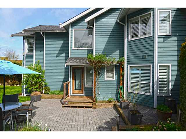 Main Photo: 1289 WOLFE Avenue in Vancouver: Fairview VW Townhouse for sale (Vancouver West)  : MLS® # V1059138