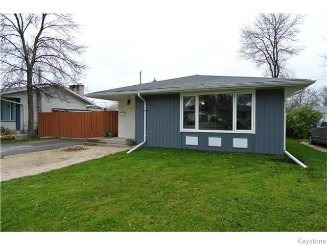 Main Photo: 520 SINCLAIR Avenue in SELKIRK: City of Selkirk Residential for sale (Winnipeg area)  : MLS® # 1529284