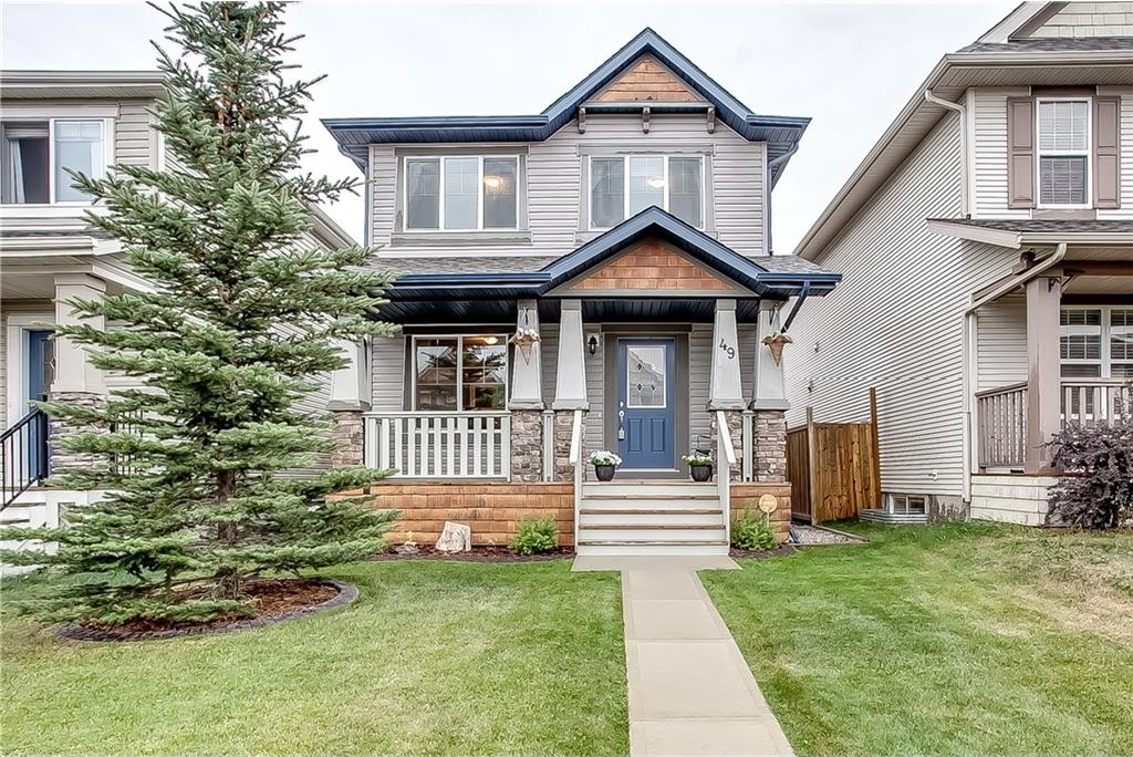 Main Photo: 49 SILVERADO PLAINS View SW in Calgary: Silverado House for sale : MLS® # C4130793