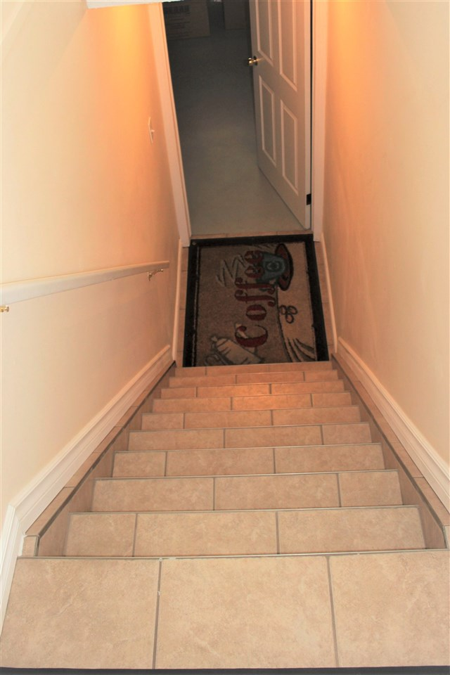 Stairs Leading Toward Basement