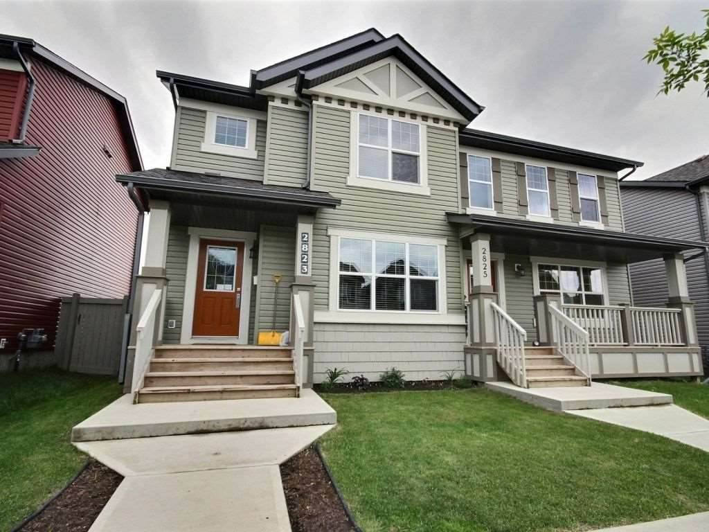 Main Photo: 2823 19 Avenue in Edmonton: Zone 30 House Half Duplex for sale : MLS® # E4083147