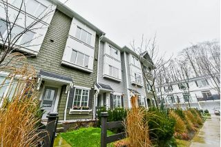 "Main Photo: 23 288 171 Street in Surrey: Pacific Douglas Townhouse for sale in ""The Crossing"" (South Surrey White Rock)  : MLS® # R2234845"