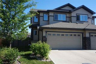 Main Photo: 1103 176 Street in Edmonton: Zone 56 House Half Duplex for sale : MLS®# E4117638