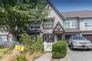 "Main Photo: 19 12099 237 Street in Maple Ridge: East Central Townhouse for sale in ""Gabriola"" : MLS®# R2294098"