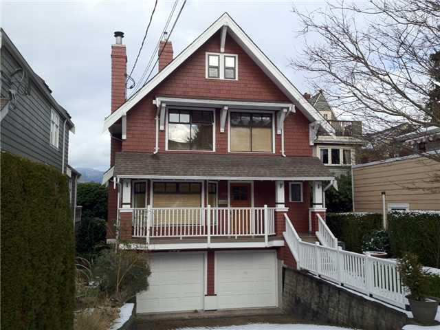 Main Photo: 2659 YORK Avenue in Vancouver: Kitsilano House 1/2 Duplex for sale (Vancouver West)  : MLS®# V926990