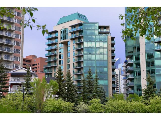 Main Photo: 601 801 2 Avenue SW in Calgary: Eau Claire Condo for sale : MLS(r) # C4042372