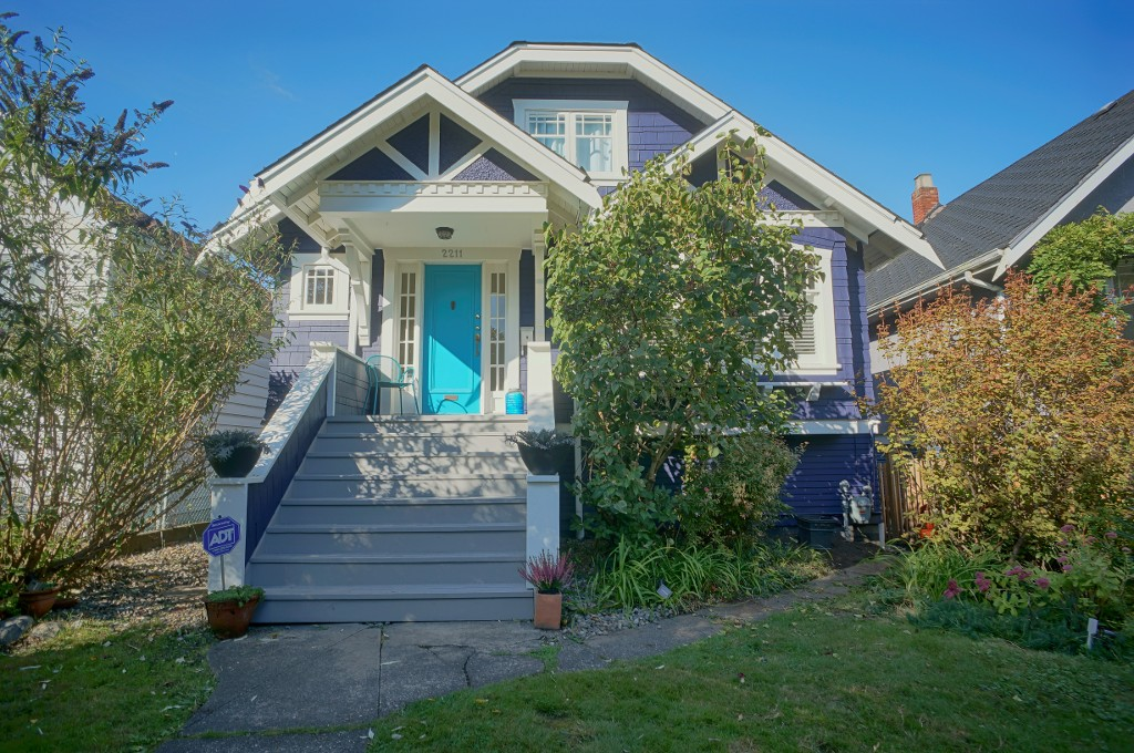 Main Photo: 2211 GRANT Street in Vancouver: Grandview VE House for sale (Vancouver East)  : MLS® # R2121184