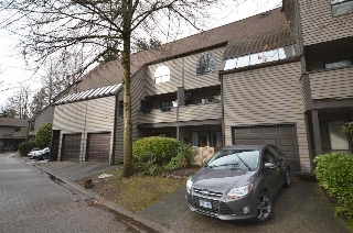 "Main Photo: 8533 TIMBER Court in Burnaby: Forest Hills BN Townhouse for sale in ""SIMON FRASER VILLAGE"" (Burnaby North)  : MLS(r) # R2141291"