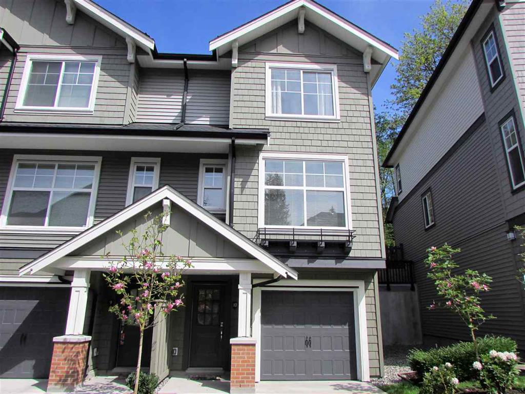 Main Photo: 10 3470 Highland Drive in Coquitlam: Burke Mountain Townhouse for sale : MLS® # R2164105
