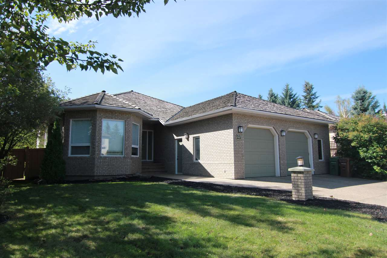 Main Photo: 23 Estate Crescent: St. Albert House for sale : MLS® # E4071928