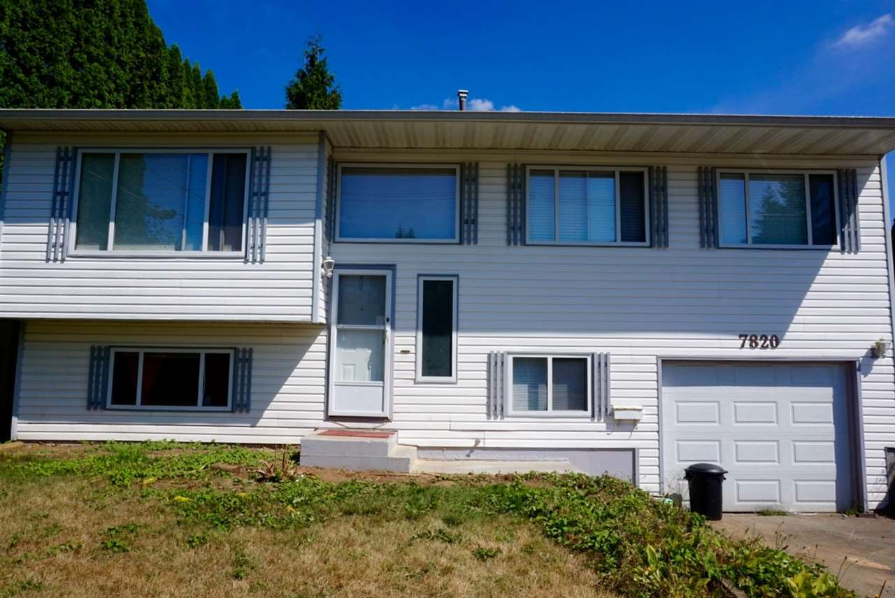 Main Photo: 7820 HURD Street in Mission: Mission BC House for sale : MLS® # R2197062