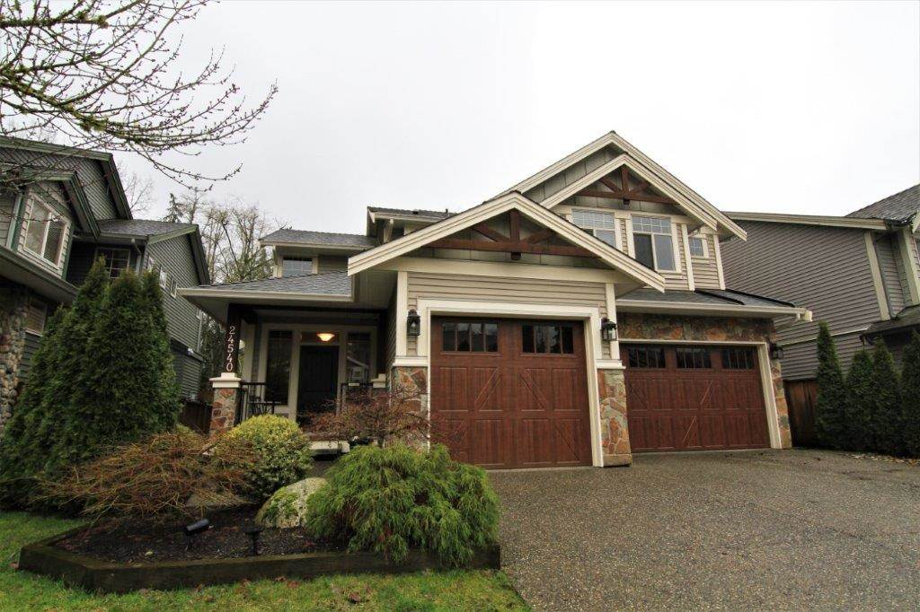 "Main Photo: 24540 KIMOLA Drive in Maple Ridge: Albion House for sale in ""HIGHLAND FOREST"" : MLS®# R2237492"