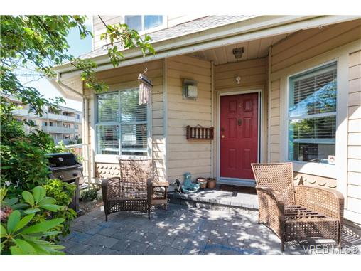 Main Photo: 6 1850 Fern Street in VICTORIA: Vi Fernwood Townhouse for sale (Victoria)  : MLS® # 366560