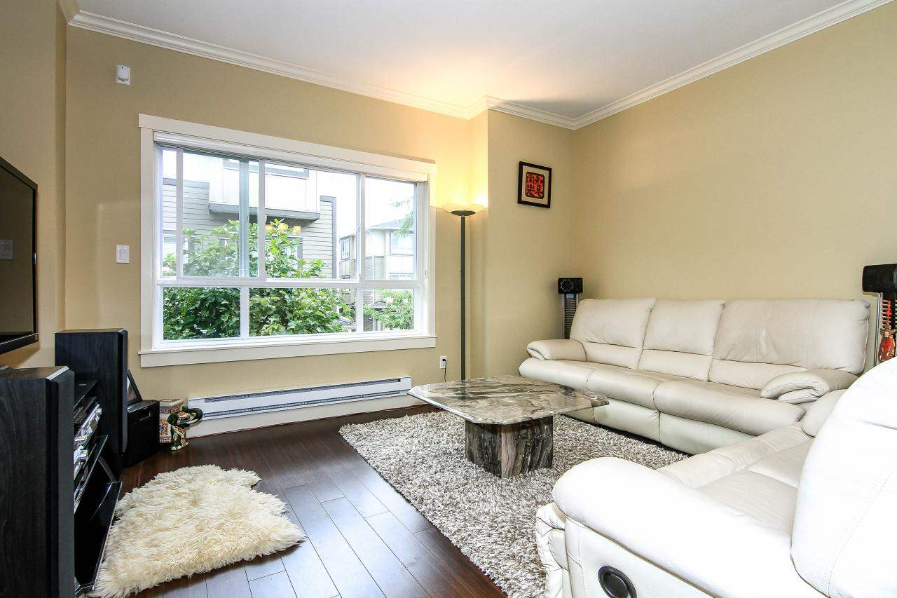 "Photo 2: 6 7393 TURNILL Street in Richmond: McLennan North Townhouse for sale in ""Karat"" : MLS® # R2098805"