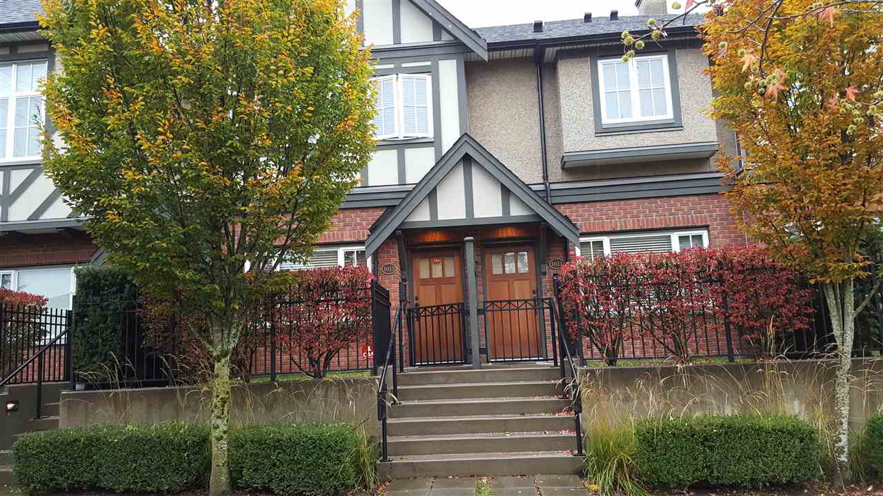 "Main Photo: 1013 W 46TH Avenue in Vancouver: South Granville Townhouse for sale in ""CARRINGTON"" (Vancouver West)  : MLS® # R2121144"