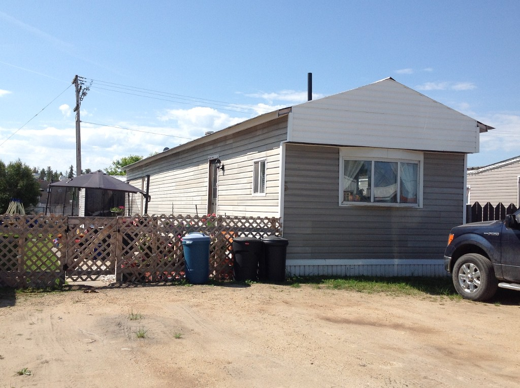 Main Photo: 5 Hillpark Mobile Park in Whitecourt: Mobile for sale : MLS(r) # 43609