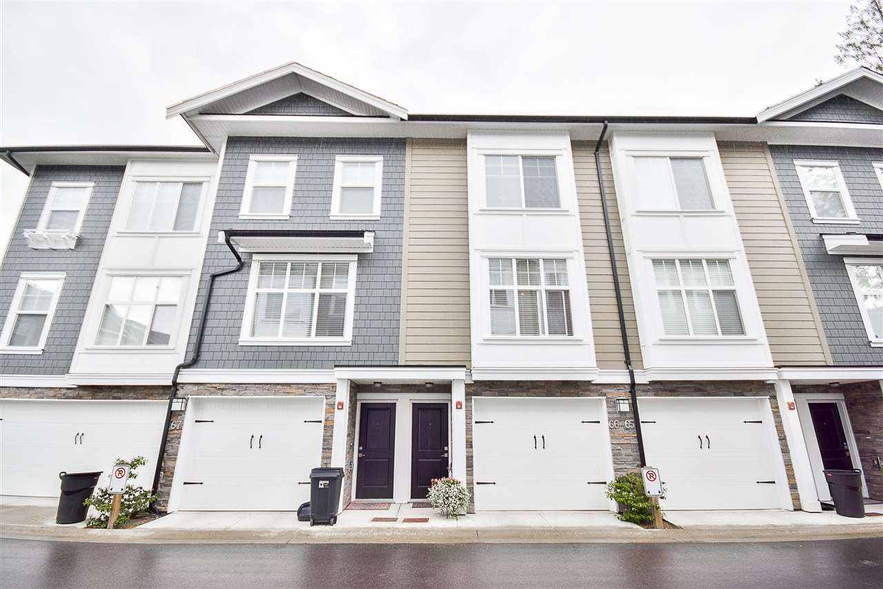 "Main Photo: 66 7686 209 Street in Langley: Willoughby Heights Townhouse for sale in ""KEATON"" : MLS(r) # R2174746"