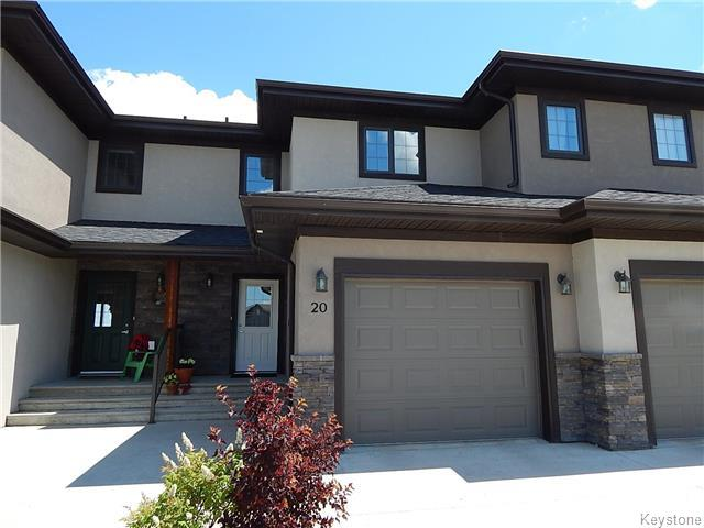 Main Photo: 20 Landsbury Terrace in Niverville: Fifth Avenue Estates Residential for sale (R07)  : MLS® # 1718242