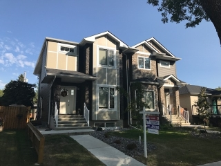 Main Photo: 8837 90 Street in Edmonton: Zone 18 House Half Duplex for sale : MLS® # E4081292
